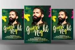Live Guest Dj Night Flyer Product Image 1
