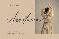 Anastacia - Handwritten Font Product Image 1