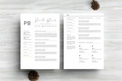 Minimalist Resume Template Product Image 5