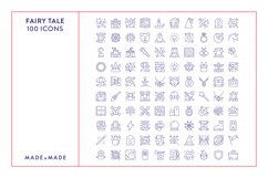 Line Icons - Fairy Tale Product Image 5