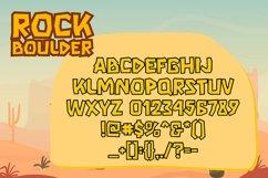 Rock Boulder - Gaming Font Product Image 4