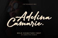 Adelina Camarine Bold Signature Font Product Image 1
