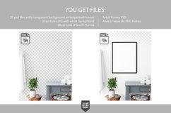 Scandinavian Interior Frames & Walls Mockup Bundle - 3 Product Image 4
