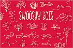 Swooshy Bois - Doodle Font Product Image 1