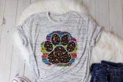 Serape leopard paw print - Sublimation Design Download Product Image 2