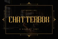 Chatterbox Product Image 1