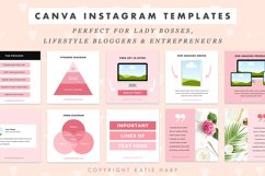 Instagram Canva Templates for Engagement - Blush Pink Product Image 4