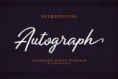 Web Font Autograph Product Image 1