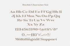 Rochie - Bold Retro Serif Font Product Image 4