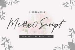 New Merrxi Script Product Image 1