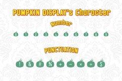 Pumpkin Display Font Product Image 3