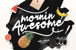 Mornin Awesome Typeface Product Image 1