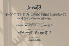 Web Font Soumatis - A Stylish Script Font Product Image 6