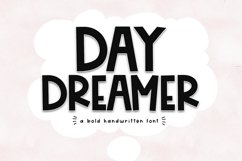 Day Dreamer - A Bold & Cute Handwritten Font Product Image 1