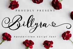 Billyra - Wedding Font Product Image 1
