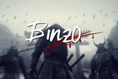 Binzo Font Product Image 1