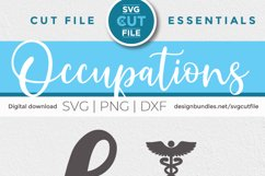 Nurse practitioner svg file for crafters - an np svg Product Image 5