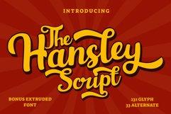 Hansley - Retro Font Product Image 1