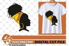 5x Black Woman Bundle SVG, Afro Girl svg, hair band SVG Product Image 2