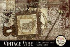Digital Scrapbook Kit - Heritage Scrapbooking Clipart Product Image 1