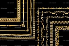 Gold Decorative Frames Clipart - Set of 20 Product Image 6
