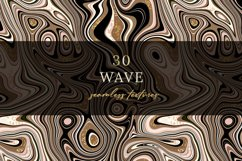 30 Wave Seamless textures. Product Image 1