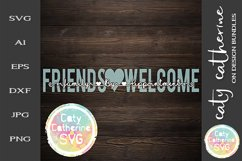 Friends Welcome Family By Appointment SVG Cut File Product Image 1