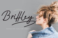 Brittley Monoline Script Product Image 1