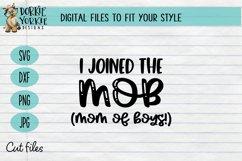 BUNDLE - Boy Mama - 11 files - heart, mom, mob, SVG cut file Product Image 5