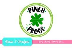 Pinch Proof SVG | St Patricks Day SVG | Luck Shirt Design Product Image 1
