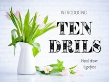 Tendrils font Product Image 1