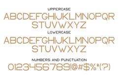 Keith - a modern sans serif font Product Image 4