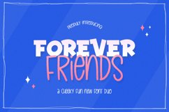 Forever Friends Font Duo Product Image 1