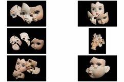 113 Broken Halloween Horror Doll Parts Head Legs Hands Product Image 5