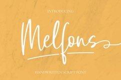 Web Font Melfons Font Product Image 1