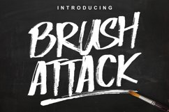 Brush Attack Product Image 1