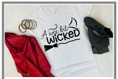 Wee Bit Wicked Halloween SVG Product Image 2