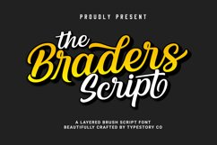 The Braders Script Product Image 1