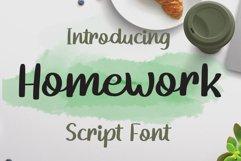 Homework Product Image 1