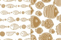 Gold and fish. Product Image 4