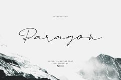 Paragon Luxury Signature Font Product Image 1