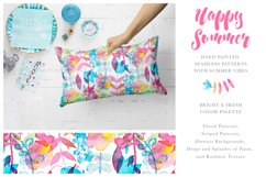 Happy Summer Seamless Patterns Product Image 3