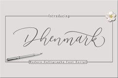 Dhenmark Font Duo Product Image 1