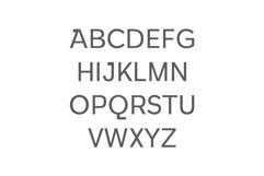 Walcot Modern Sans Serif Font Product Image 2