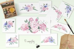 Chic Watercolor Floral Collection Product Image 3