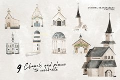 Wedding map creator watercolor Product Image 5