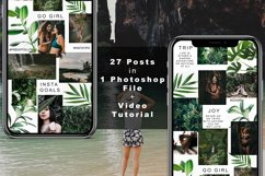 """Instagram Puzzle Feed Template - """"The Trip"""" Product Image 2"""