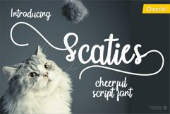 Scaties - Cheerful Font Product Image 1