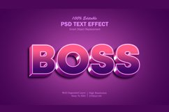 Boss 2 gradient Text Effect Product Image 1
