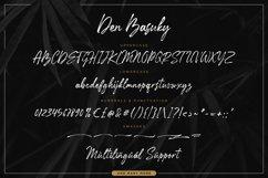 Den Basuky - Rustic Brush Font Product Image 6